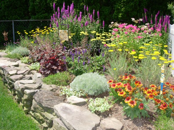 Planting diagram for perennial flower beds planting free for Flower garden layout