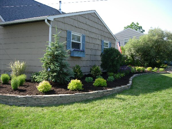 Landscape design by lee long island ny before after for Island landscape design